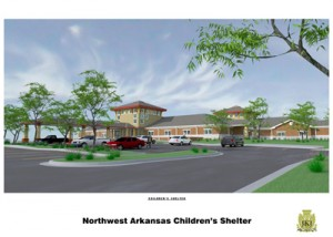 NWA Children's Shelter new building